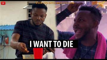 Comedy Skit: Xploit Comedy - I Want To Die