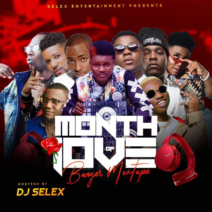 DJ Selex - Month of Love Banger Mixtape