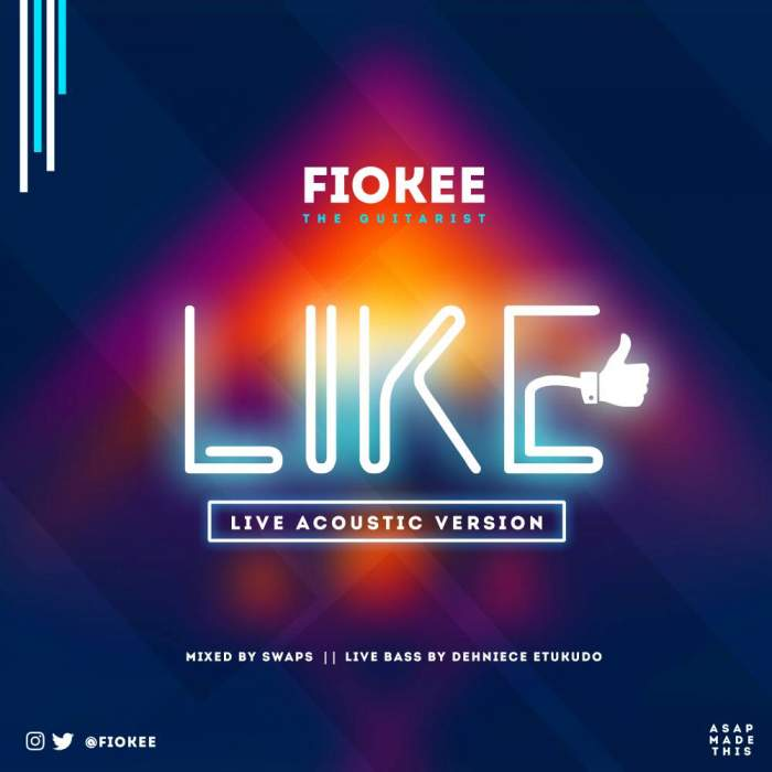 Fiokee - Like (Reekado Banks Acoustic Version)