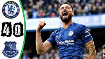 Video: Chelsea 4 - 0 Everton (Mar-08-2020) Premier League Highlights