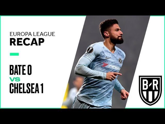 BATE Borisov 0 - 1 Chelsea (Nov-08-2018) Europa League Highlights