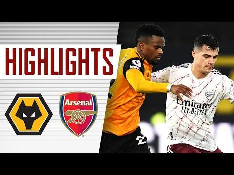 Video: Wolves 2 - 1 Arsenal (Feb-02-2021) Premier League Highlights