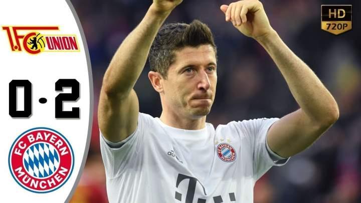 Union Berlin 0 - 2 Bayern Munich (May-17-2020) Bundesliga Highlights