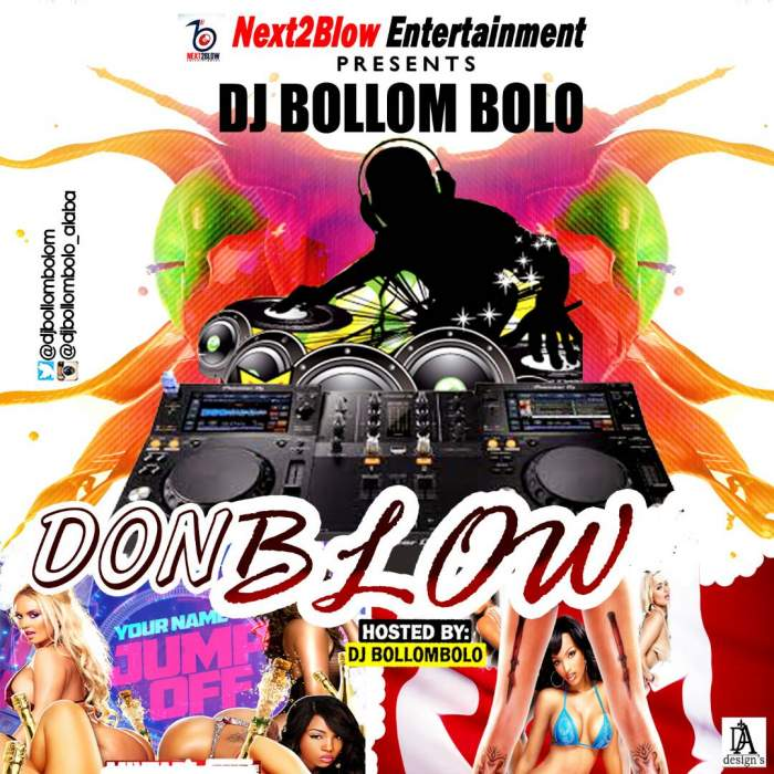 DJ Bollombolo - Don Blow Mix