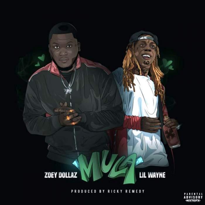 Zoey Dollaz - Mula (Remix) (feat. Lil Wayne)