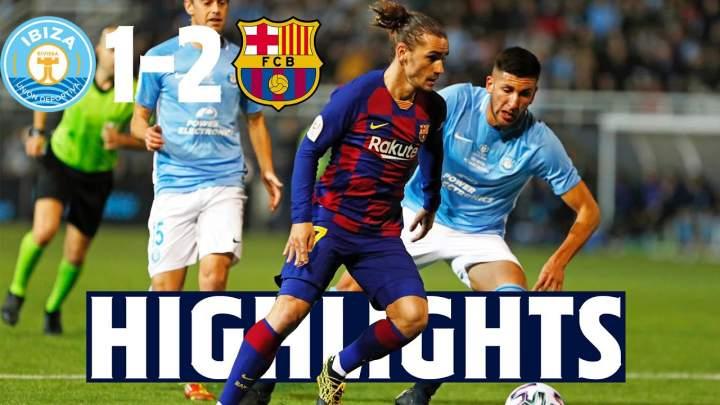 Ibiza 1 - 2 Barcelona (Jan-22-2020) Copa del Rey Highlights