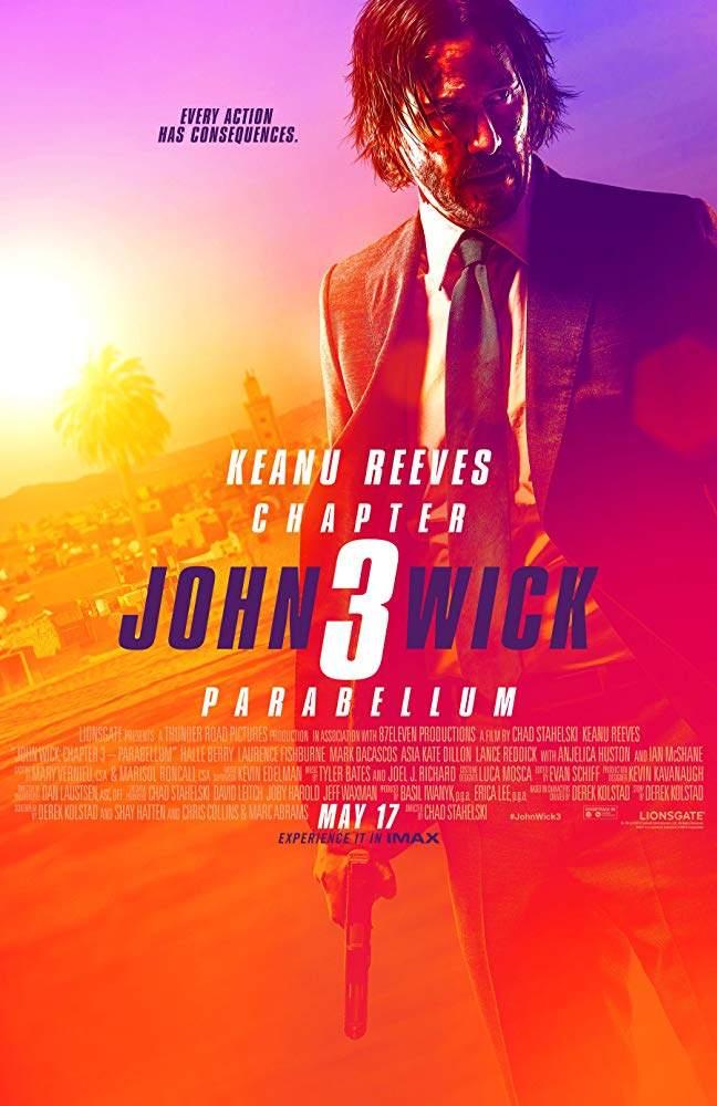 Movie: John Wick: Chapter 3 - Parabellum (2019) [CAMRip]