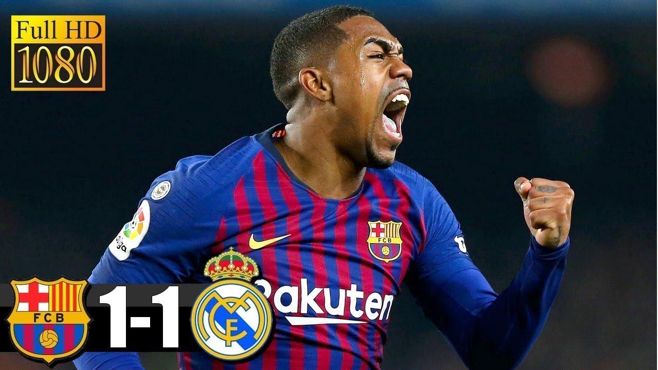 Barcelona 1 - 1 Real Madrid (Feb-06-2019) Copa del Rey Highlights