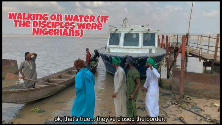 Xploit Comedy - Walking on the Sea (If the Disciples Were Nigerians)