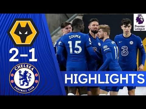 Video: Wolves 2 - 1 Chelsea (Dec-15-2020) Premier League Highlights