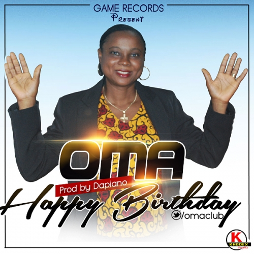 Oma - Happy Birthday