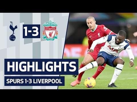 Tottenham 1 - 3 Liverpool (Jan-28-2021) Premier League Highlights