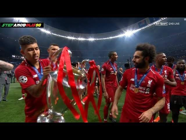 Tottenham Hotspur 0 - 2 Liverpool (Jun-01-2019) UEFA Champions League Final Highlights
