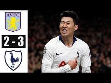 Video: Aston Villa 2 - 3 Tottenham (Feb-16-2020) Premier League Highlights