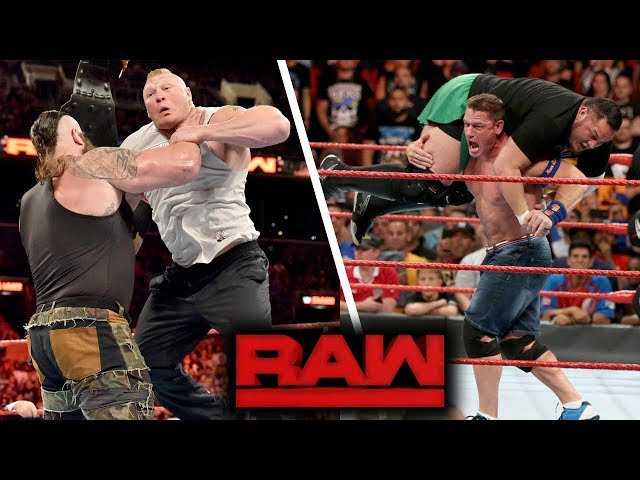WWE RAW (Aug-21-2017) Highlights
