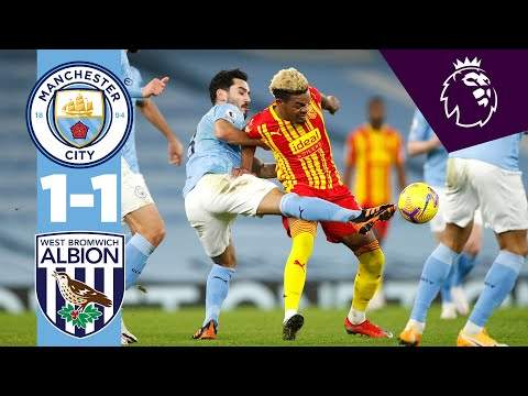 Video: Manchester City 1 - 1 West Brom (Dec-15-2020) Premier League Highlights