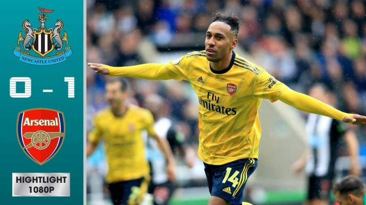 Newcastle United 0 - 1 Arsenal (Aug-11-2019)  Premier League Highlights