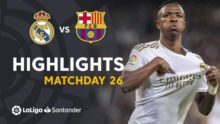 Real Madrid 2 - 0 Barcelona (Mar-01-2020) LaLiga Highlights