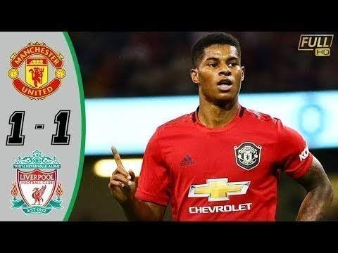 Manchester United 1 - 1 Liverpool (Oct-20-2019)  Premier League Hightlighs