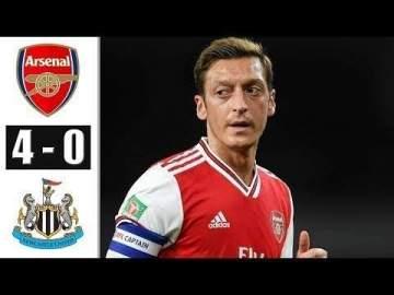 Video: Arsenal 4 - 0 Newcastle (Feb-16-2020) Premier League Highlights
