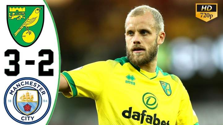 Norwich City 3 - 2 Man City (Sat-14-2019) Premier League Highlights