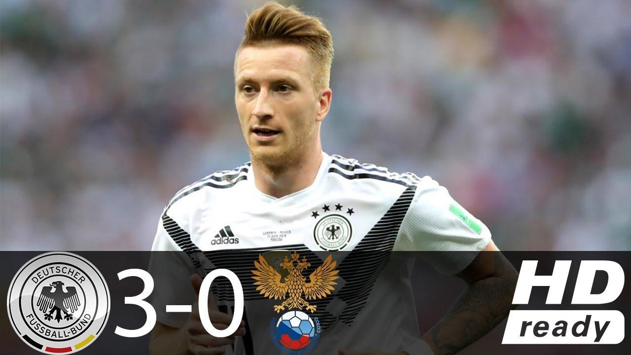 Germany 3 - 0 Russia (Nov-15-2108) Friendly Highlights