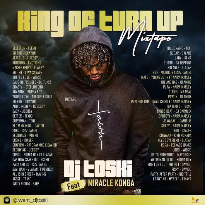 DJ Toski - King of Turn Up Mix