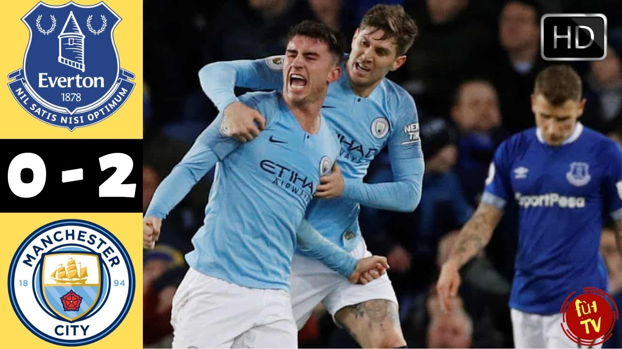 Everton 0 - 2 Manchester City (Feb-06-2019) Premier League Highlights