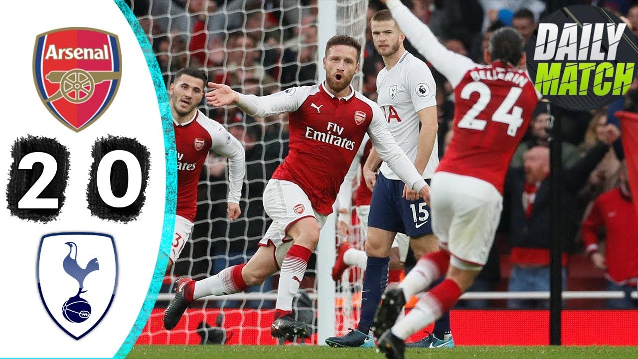 Arsenal 2 - 0 Tottenham Hotspur (Nov-18-2017) Premier League Highlights