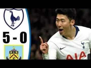 Video: Tottenham 5 - 0 Burnley (Dec-07-2019) Premier League Highlights