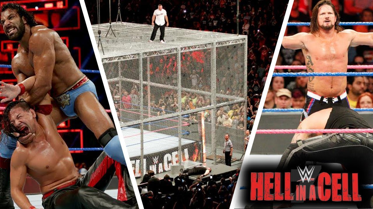 WWE Hell in a Cell (Oct-8-2017) Highlights