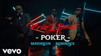 Video: Krizbeatz - Poker (feat. Mayorkun & Reminisce)