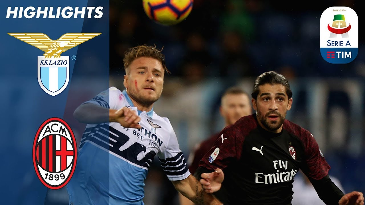 Lazio 1 - 1 Milan (Nov-25-2018) Serie A Highlights