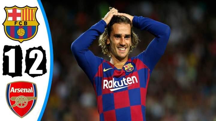 Barcelona 2 - 1 Arsenal (Aug-04-2019) Joan Gamper Trophy Highlights