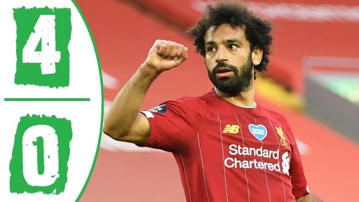 Liverpool 4 - 0 Crystal Palace (Jun-24-2020) Premier League Highlights