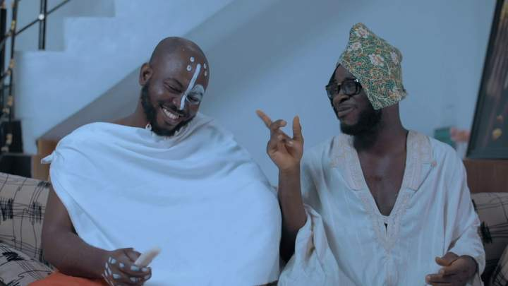 Papa Ade and Ade - Episode 4 (The Visitor)