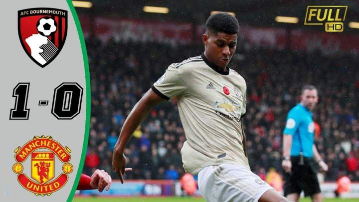 Bournemouth 1 - 0 Manchester United (Nov-02-2019) Premier League Highlights