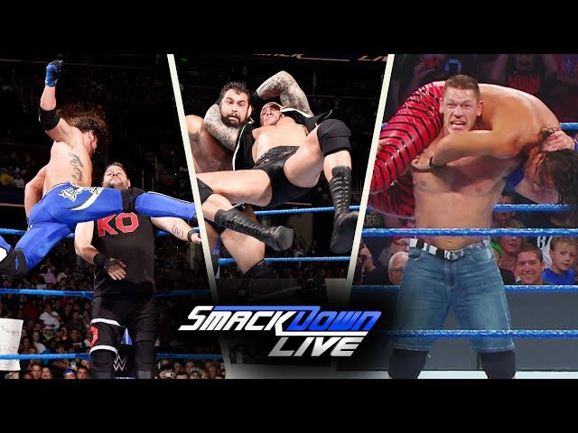 WWE SmackDown (Aug-1-2017) Highlights