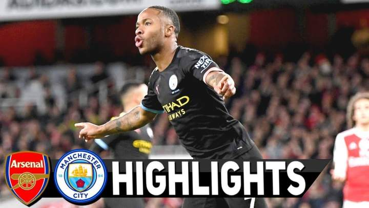 Arsenal 0 - 3 Manchester City (Dec-15-2019) Premier League Highlights