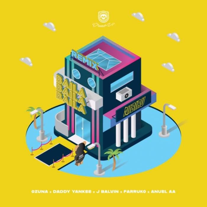 Ozuna - Baila Baila Baila (Remix) (feat. Daddy Yankee, J Balvin, Farruko & Anuel AA)