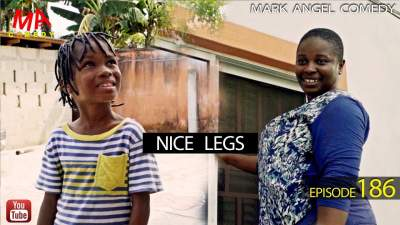 Comedy Skit: Mark Angel Comedy - Episode 186 (Nice Legs)