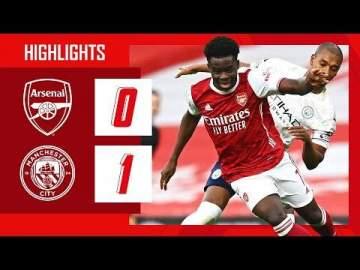 Video: Arsenal 0 - 1 Manchester City (Feb-21-2021) Premier League Highlights
