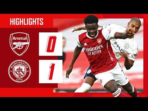 Arsenal 0 - 1 Manchester City (Feb-21-2021) Premier League Highlights