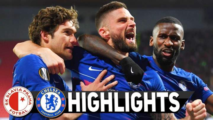 Slavia Praha 0 - 1 Chelsea (11-APR-2019) UEFA Europa League Highlights