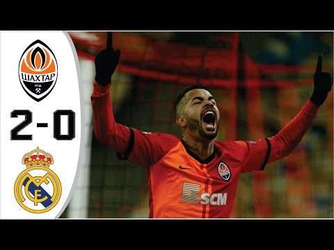 Shakhtar Donetsk 2 - 0 Real Madrid (Dec-01-2020) UEFA Champions League Highlights