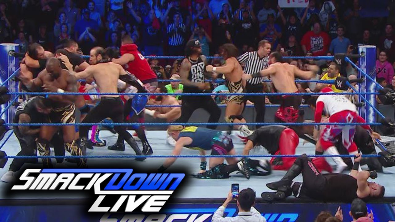 WWE SmackDown (Nov-22-2017) Highlights
