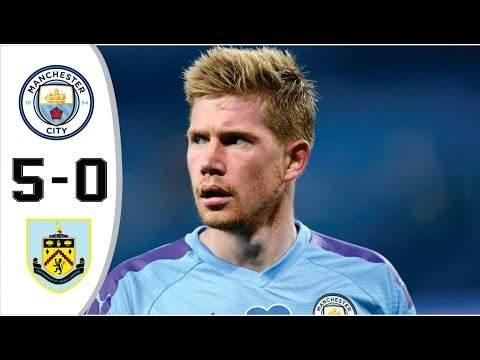 Manchester City 5 - 0 Burnley (Nov-28-2020) Premier League Highlights