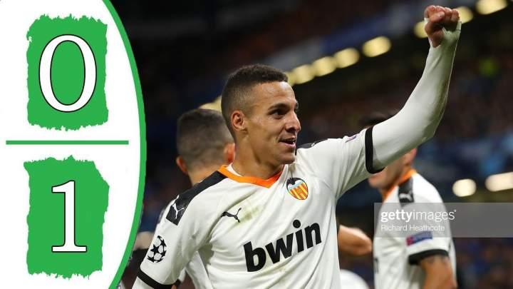 Chelsea 0 - 1 Valencia (Sat-17-2019) UEFA Champions Highlights