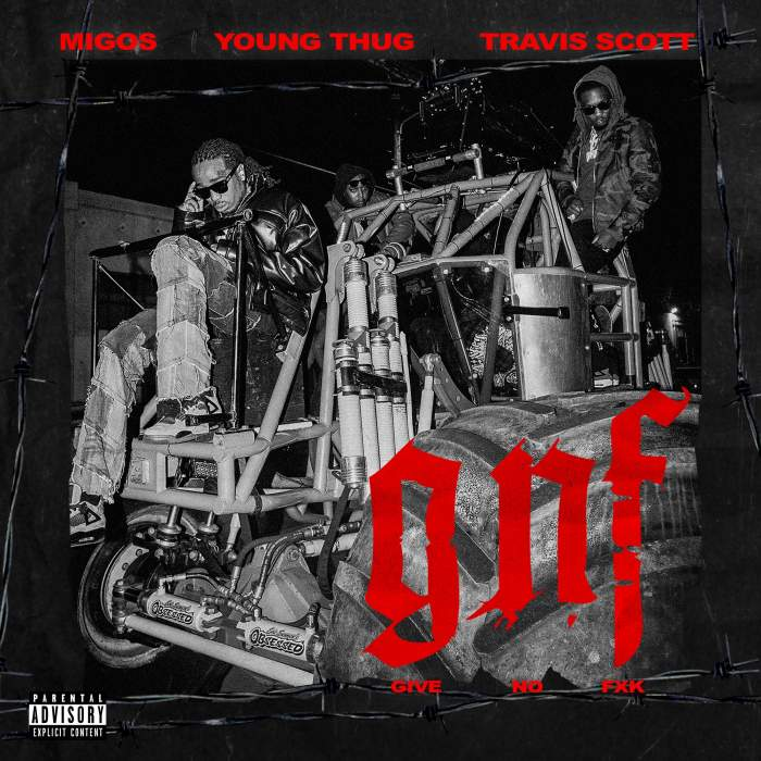 Migos - Give No Fxk (feat. Travis Scott & Young Thug)