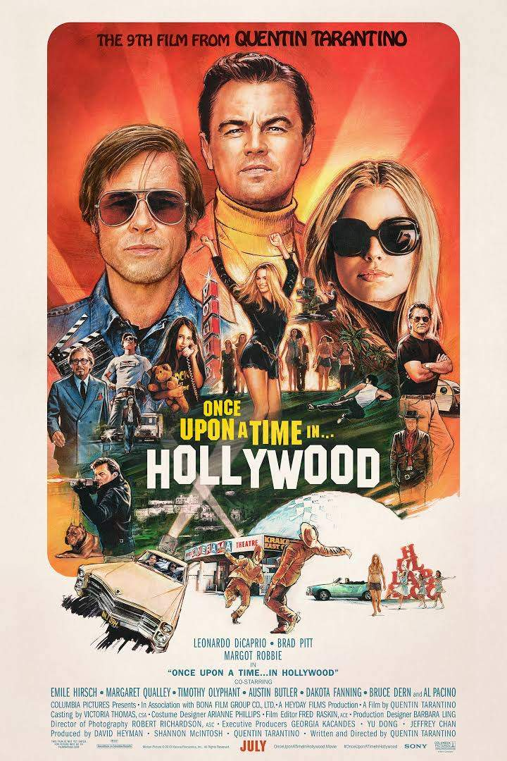 Once Upon A Time... In Hollywood (2019) [HC-HDRip]